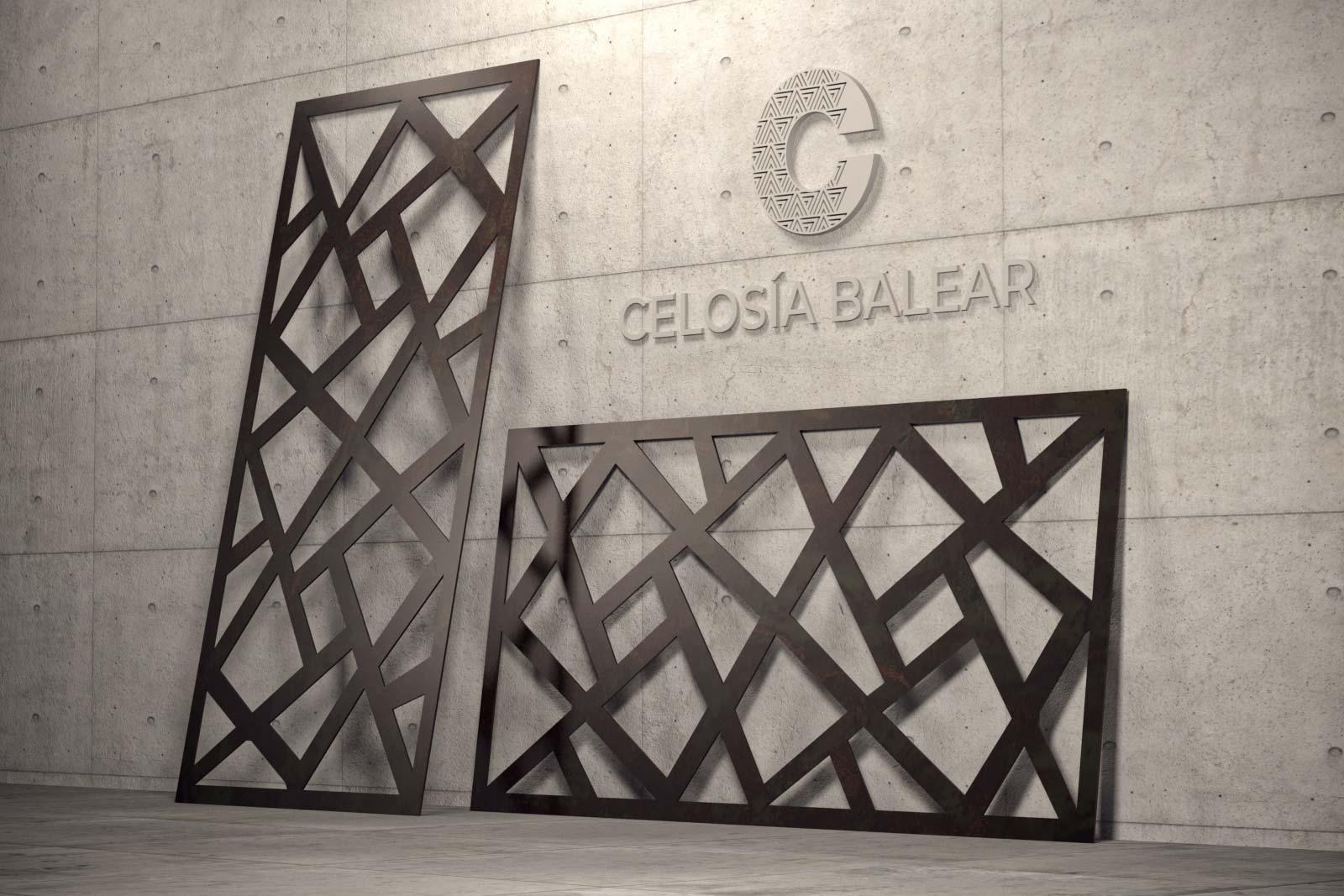 colección cubismo de celosía