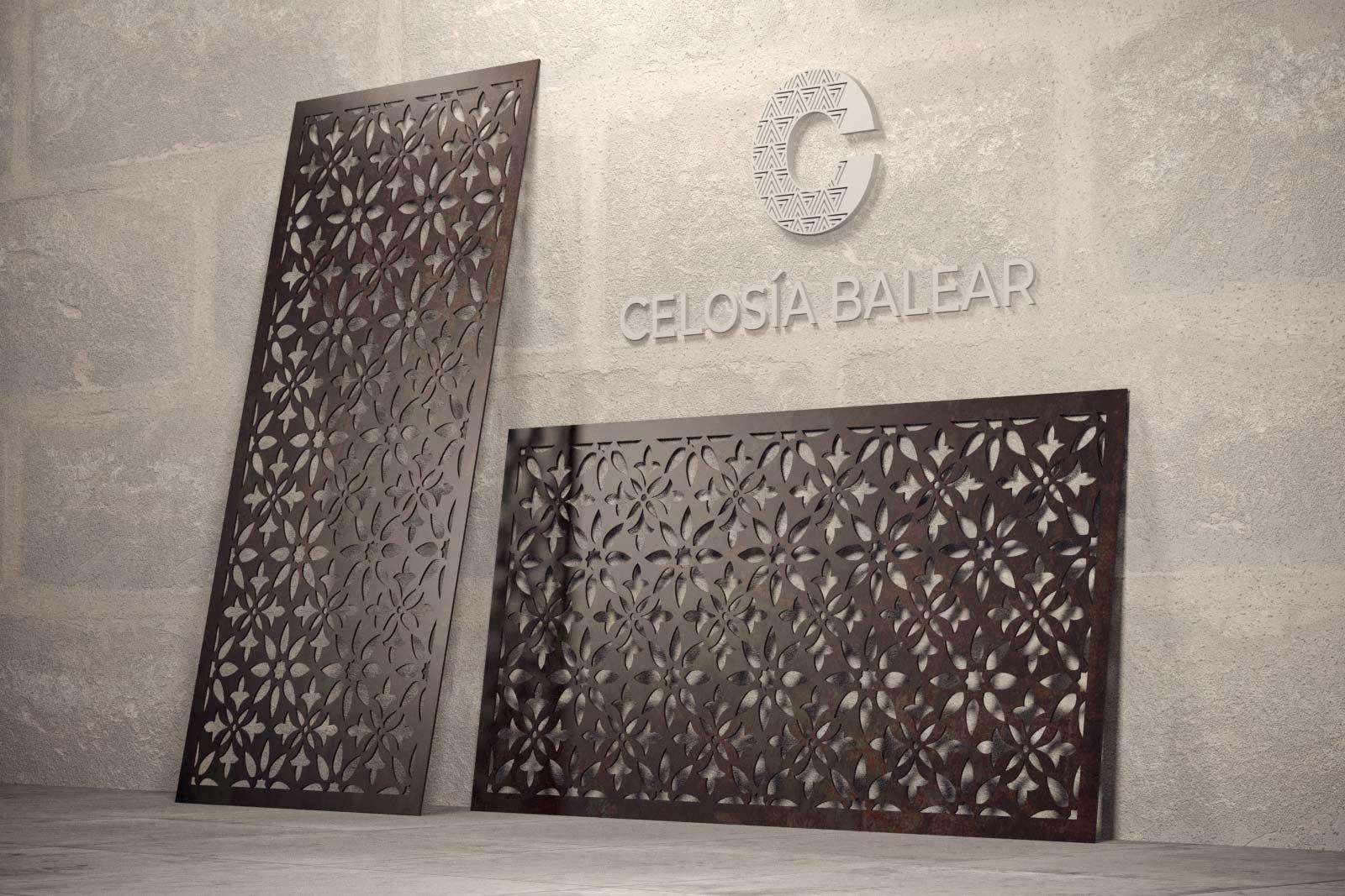 Celosía Balear enseña su placa con diseño natural