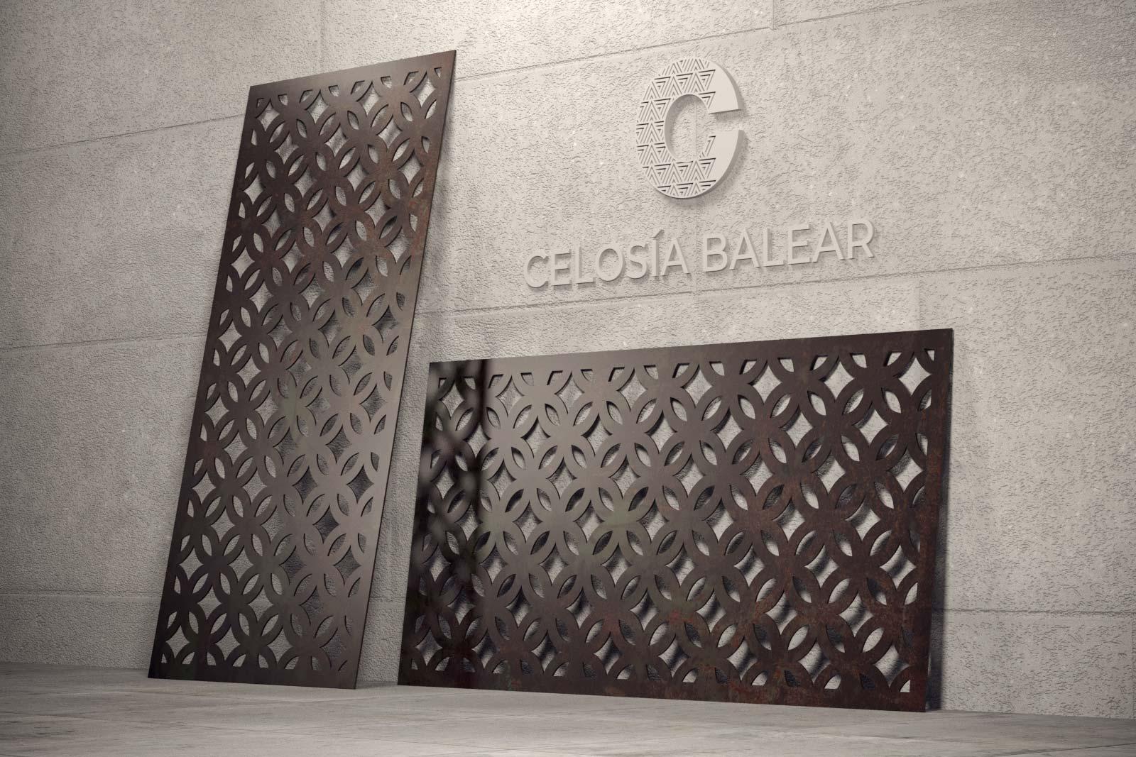 Diseño de interior y exterior de placas de celosías en Mallorca